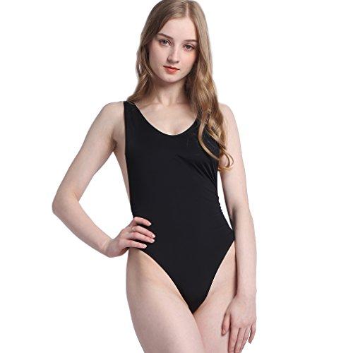 Women's Sexy High Cut Backless Swimsuit Bikini One Piece String - Sale Triathlon Wetsuit