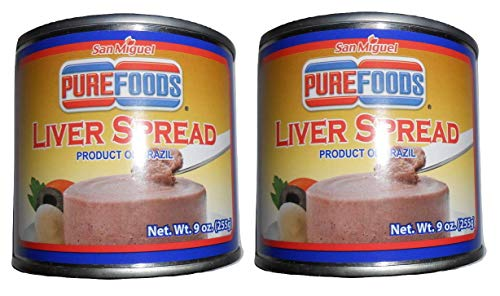 (Pure Foods Liver Spread 9 oz)