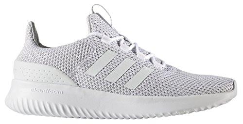 - adidas Men's Cloudfoam Ultimate Running Shoe White/Grey, 10.5 Medium US