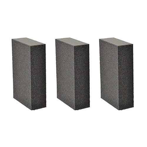3 PCS Sanding Sponge Block, Great for Hand Sanding and Finishing, Use of Drywall, Metal, Wood, Painted surface and -