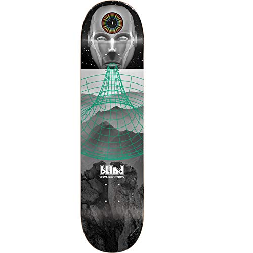 作曲家故障袋Blind Skateboards Sewa Kroetkov スペースケース スケートボードデッキ 樹脂 7-8インチ x 31.7インチ