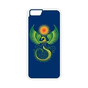 Phoenix Ornament iPhone 6 4.7 Inch Cell Phone Case White MSU7196570