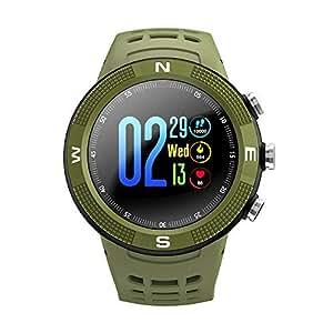 Teepao F18 GPS Reloj Inteligente Deportivo, Modo Multideportivo, IP68 a Prueba de Agua 1,3 Pulgadas Pantalla Táctil Reloj Inteligente para iOS Android Samsung