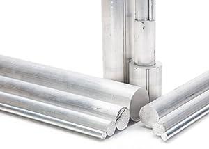 """Remington Industries 1.5RD6061T6511-12 1-1/2"""" Diameter, 6061 Aluminum Round Rod, 12"""" Length, T6511, Extruded, 1.5"""" Diameter"""
