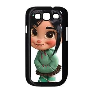 Disney Wreck It Ralph Character Vanellope Von Schweetz Samsung Galaxy S3 9300 Cell Phone Case Black Phone Accessories JV2705G5