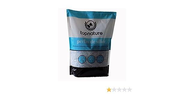 TOP NATURE 3,8L Perlas de sílice para lechos de gato (absorbente natural, no toxico y seguro): Amazon.es: Hogar
