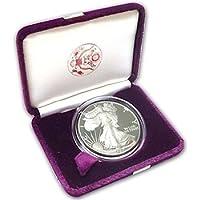 1988 W American Silver Eagle Dollar US Mint Uncirculated