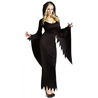 Amazon.com: Ladies Sexy Scream Long Hooded Gown Robe