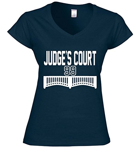 Court Womens Sweatshirt - The Silo NAVY New York Judge