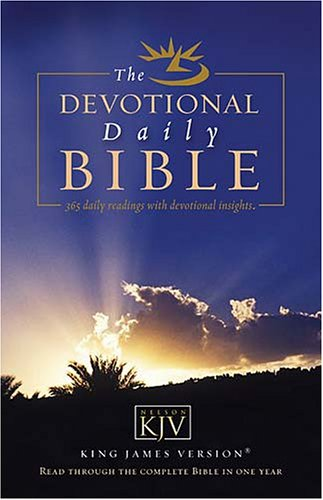 Devotional Daily Bible: Read Through the Complete Bible in One Year
