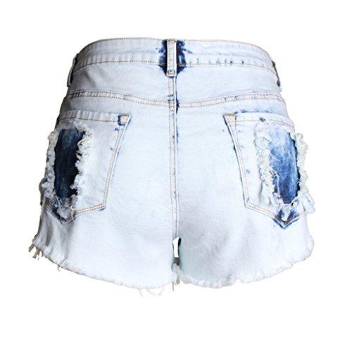 de S haute hanche plage Femme en la t Taille lasticit BUSINE Size Ms chaud Pantalon serr jean Amincissement FANG de QI Short H1WxXZqTwW