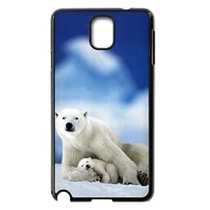 Polar Bears New Fashion Case for Samsung Galaxy Note 3 N9000, Popular Polar Bears Case