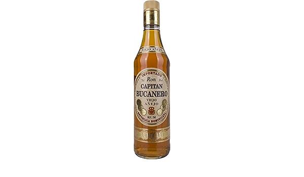 Capitan Bucanero Viejo Anejo Rum, 1er Pack (1 x 700 ml ...
