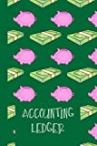 Accounting Ledger for Kids: Spending Journal and Expense Tracker for Children - 120 Pages - Fun Logbook to Track Spending and Savings