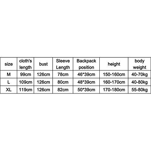 Lungo Lungo Lungo Trasparente Traspirante Impermeabile Theme Theme Theme Per Turismo Portatile Festival Battercake All'Aperto Al Poncho Cappello Comodo Party Zaino Impermeabile E Aid Moda Confortevole First Grigio Adulti HvqdZ1naxn