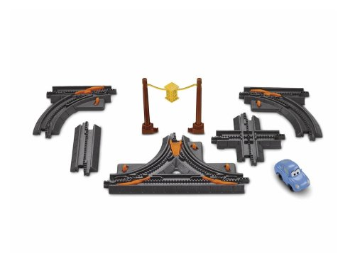 Fisher-Price Geotrax Cars Elevation Track Pack with Sally - Geotrax Elevation Track Pack