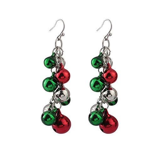 FERVENT LOVE Christmas Earrings for Women, Hoop Earrings/Acrylic Eariings/Dangle Earings