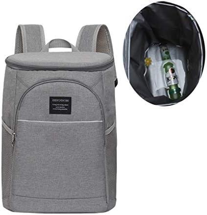 RUIXFAP Multifunctional Cooler Backpack Large Capacity Cool Bag Rucksack Leak Proof Cooler Bag for Men Women to Picnics Hiking Camping Family Trips Durable