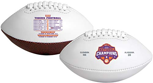 (Rawlings Clemson University Tigers 2019 College Football National Champions Full Sized Football)