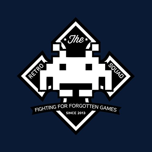 Retro white Jacket Space Invader Squad Navy Varsity Men's OOPrTFq