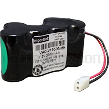 7 2v Nimh Battery For Shark Vacuum V1950 And Vx3 Replaces