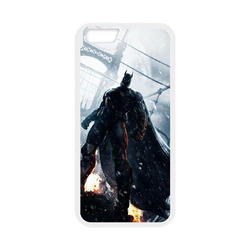 Batman coque iPhone 6 4.7 Inch Housse Blanc téléphone portable couverture de cas coque EBDOBCKCO10077