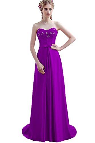 Para Trapecio Mujer Vimans Purple2 Vestido OEUzqwBp
