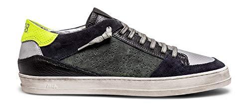 P448 Men's Queens Italian Leather Willow Sneaker EU 46 / US 13 Green