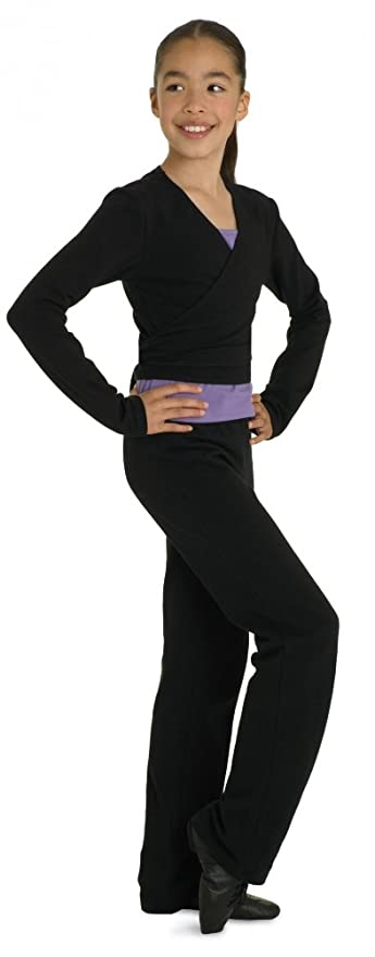 Bloch Coupé V-Front évasé Pantalon de Jazz - Noir - âge 12-14  Amazon.fr   Vêtements et accessoires 96143fa8384