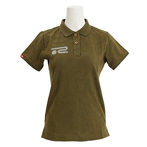 浸透する苦い要件ポロシャツ レディース ロサーセン ROSASEN 2018 春夏 ゴルフウェア M(40) カーキ(027) 045-27444