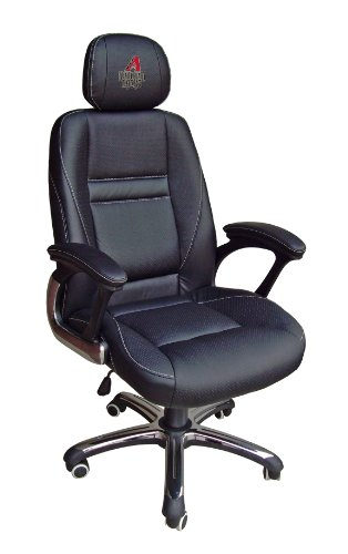 MLB Arizona Diamondbacks Leather Head Coach Office Chair