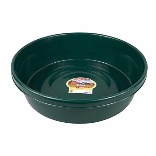 Little Giant P3GREEN Dura-Flex Plastic Utility Pan, 3-Gallon, Green (Pail Utility Plastic)