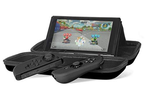 AmazonBasics Starter Kit for Nintendo Switch (Black)
