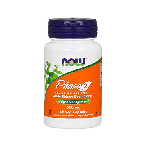 NOW Foods Phase 2 Starch Neutralizer-60 Capsules
