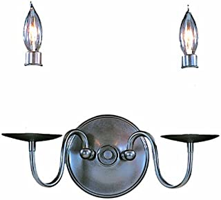 product image for Framburg 9222 SP 2-Light Jamestown Sconce, Satin Pewter