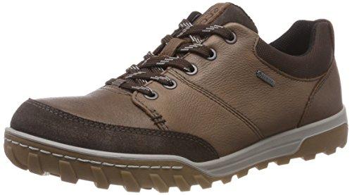 Picture of ECCO Men's Goran Gore-TEX Hiking Shoe, Cocoa Brown/Licorice ely, 46 M EU (12-12.5 US)
