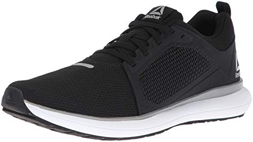 Reebok Women's Driftium Ride Running Shoe, Black/Foggy Grey/White/si, 10 M US