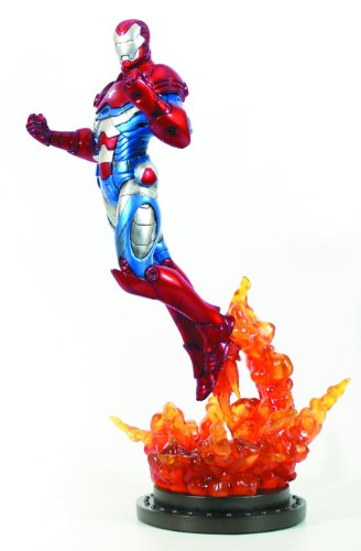 Bowen Designs Iron Patriot Painted Statue