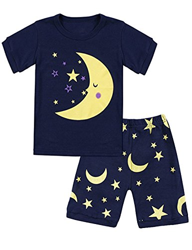 Girls Moon & Star Pajamas