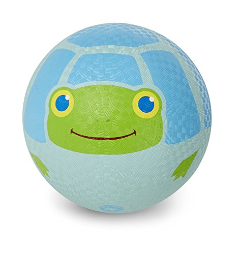 Melissa & Doug Sunny Patch Dilly Dally Turtle Classic Rubber Kickball