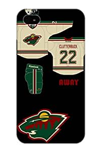 New Fashionable Storydnrmue Hbsehw-2650-vhdqk Cover Case Specially Made For Iphone 4/4s(minnesota Wild Hockey Nhl 2)