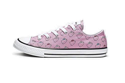 Converse X Miley Cyrus Girls CTAS Ox Prism Pink/White 664638F (US 1)
