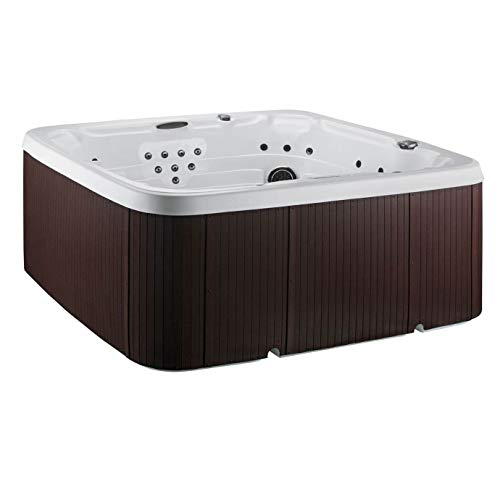 LIFE SMART Coronado DLX 65 Jet 7 Person Indoor Outdoor Hard Shell Hot Tub Spa