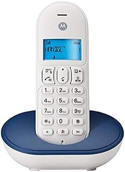 Motorola T101 Telefono DECT, Azul: Amazon.es: Electrónica