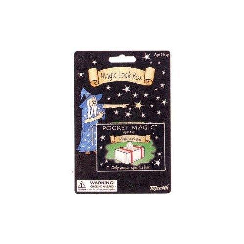 (Toysmith Pocket Magic Magic Lock Box Novelty by Toysmith)