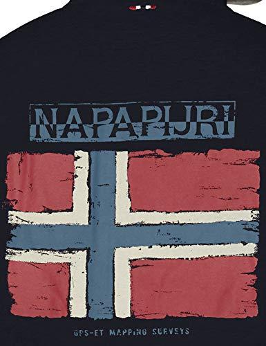 blu blu uomo zip da N0yhwk Napapijri con Marine Felpa 176 TwOna