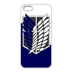 Attack On Titan For iPhone 5, 5S Csae protection Case DH556751