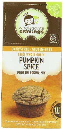 Saine Cravings sans gluten protéine Snack mélange à gâteau, la citrouille Spice, 4,69 once