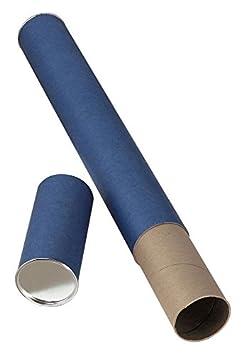 Alvin T413-25 Blue Fiberboard Tube 2 1//2 X 25