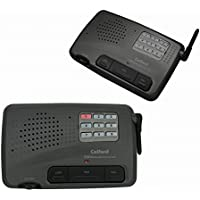 9 Channel FM Wireless Intercom System for Home and Office 2 Station Charcoal